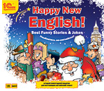 1С:Аудиокниги. Happy New English! (Best funny stories)